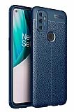Dafoni Liquid Shield OnePlus Nord N100 Ultra Koruma Lacivert Kılıf