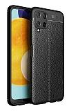 Dafoni Liquid Shield Samsung Galaxy A22 4G Ultra Koruma Siyah Kılıf