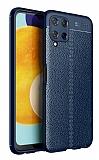 Dafoni Liquid Shield Samsung Galaxy A22 4G Ultra Koruma Lacivert Kılıf