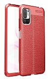 Dafoni Liquid Shield Xiaomi Poco M3 Pro Ultra Koruma Kırmızı Kılıf