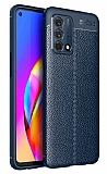 Dafoni Liquid Shield Oppo A74 Ultra Koruma Lacivert Silikon Kılıf