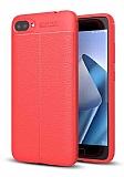 Dafoni Liquid Shield Premium Asus Zenfone 4 Max ZC554KL Kırmızı Silikon Kılıf