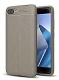 Dafoni Liquid Shield Premium Asus Zenfone 4 Max ZC554KL Gri Silikon Kılıf