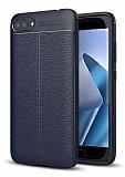 Dafoni Liquid Shield Premium Asus Zenfone 4 Max ZC554KL Lacivert Silikon Kılıf