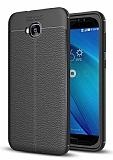 Dafoni Liquid Shield Premium Asus ZenFone 4 Selfie ZD553KL Siyah Silikon Kılıf