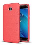 Dafoni Liquid Shield Premium Asus ZenFone 4 Selfie ZD553KL Kırmızı Silikon Kılıf