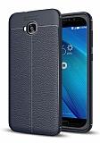 Dafoni Liquid Shield Premium Asus ZenFone 4 Selfie ZD553KL Lacivert Silikon Kılıf