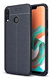 Dafoni Liquid Shield Premium Asus ZenFone 5 ZE620KL Lacivert Silikon Kılıf