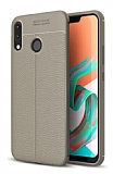 Dafoni Liquid Shield Premium Asus ZenFone 5 ZE620KL Gri Silikon Kılıf
