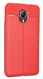 Dafoni Liquid Shield Premium General Mobile GM 5 Plus Kırmızı Silikon Kılıf