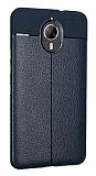 Dafoni Liquid Shield Premium General Mobile GM 5 Plus Lacivert Silikon Kılıf