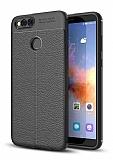 Dafoni Liquid Shield Premium Honor 7X Siyah Silikon Kılıf
