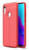 Dafoni Liquid Shield Premium Huawei Y6 2019 / Honor 8A Kırmızı Silikon Kılıf