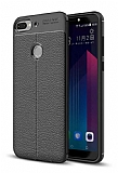Dafoni Liquid Shield Premium HTC Desire 12 Plus Siyah Silikon Kılıf