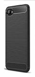 Eiroo Carbon Shield HTC Desire 12 Ultra Koruma Siyah Kılıf
