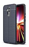 Dafoni Liquid Shield Premium Huawei Mate 20 Lite Lacivert Silikon Kılıf