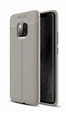 Dafoni Liquid Shield Premium Huawei Mate 20 Pro Gri Silikon Kılıf