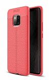 Dafoni Liquid Shield Premium Huawei Mate 20 Pro Kırmızı Silikon Kılıf