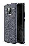 Dafoni Liquid Shield Premium Huawei Mate 20 Pro Lacivert Silikon Kılıf