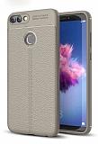 Dafoni Liquid Shield Premium Huawei P Smart Gri Silikon Kılıf