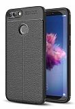 Dafoni Liquid Shield Premium Huawei P Smart Siyah Silikon Kılıf
