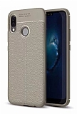 Dafoni Liquid Shield Premium Huawei P20 Lite Gri Silikon Kılıf