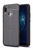 Dafoni Liquid Shield Premium Huawei P20 Lite Siyah Silikon Kılıf