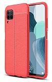 Dafoni Liquid Shield Premium Huawei P40 Lite Kırmızı Silikon Kılıf