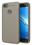 Dafoni Liquid Shield Premium Huawei P9 Lite Mini Gri Silikon Kılıf