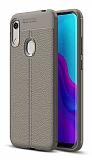 Dafoni Liquid Shield Premium Huawei Y6s 2019 Silver Silikon Kılıf