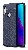 Dafoni Liquid Shield Premium Huawei Y6s 2019 Lacivert Silikon Kılıf