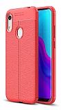 Dafoni Liquid Shield Premium Huawei Y6s 2019 Kırmızı Silikon Kılıf
