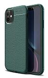 Dafoni Liquid Shield Premium iPhone 11 Pro Max Yeşil Silikon Kılıf