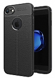 Dafoni Liquid Shield Premium iPhone 7 / 8 Siyah Silikon Kılıf