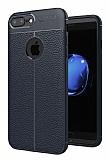 Dafoni Liquid Shield Premium iPhone 7 Plus / 8 Plus Lacivert Silikon Kılıf