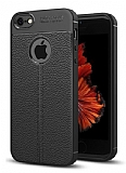 Dafoni Liquid Shield Premium iPhone SE / 5 / 5S Siyah Silikon Kılıf