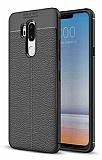Dafoni Liquid Shield Premium LG G7 ThinQ Siyah Silikon Kılıf