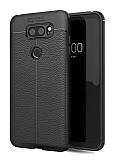 Dafoni Liquid Shield Premium LG V30 Siyah Silikon Kılıf