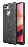 Dafoni Liquid Shield Premium Oppo AX7 / Oppo A5s Siyah Silikon Kılıf