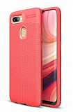 Dafoni Liquid Shield Premium Oppo AX7 / Oppo A5s Kırmızı Silikon Kılıf