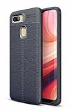 Dafoni Liquid Shield Premium Oppo AX7 / Oppo A5s Lacivert Silikon Kılıf