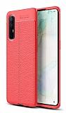 Dafoni Liquid Shield Premium Oppo Reno3 Pro Kırmızı Silikon Kılıf
