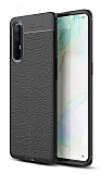 Dafoni Liquid Shield Premium Oppo Reno3 Pro Siyah Silikon Kılıf
