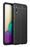 Dafoni Liquid Shield Premium Samsung Galaxy A02 Siyah Silikon Kılıf