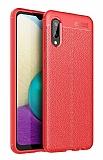 Dafoni Liquid Shield Premium Samsung Galaxy A02 Kırmızı Silikon Kılıf