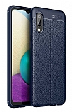 Dafoni Liquid Shield Premium Samsung Galaxy A02 Lacivert Silikon Kılıf