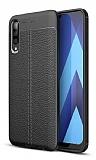 Dafoni Liquid Shield Premium Samsung Galaxy A50 Siyah Silikon Kılıf