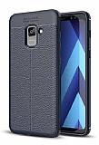 Dafoni Liquid Shield Premium Samsung Galaxy A6 2018 Lacivert Silikon Kılıf