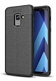 Dafoni Liquid Shield Premium Samsung Galaxy A6 2018 Siyah Silikon Kılıf