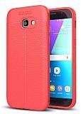 Dafoni Liquid Shield Premium Samsung Galaxy A7 2017 Kırmızı Silikon Kılıf